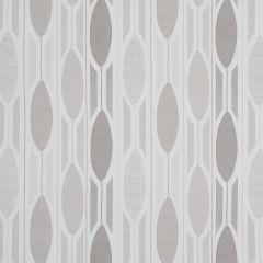 Charcoal Grey Geometric Roman Blind