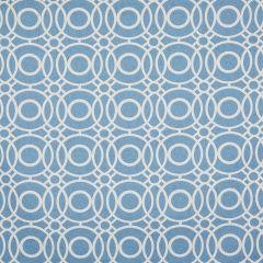 Ezra Blue, Geometric Roman Blinds UK