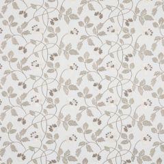 Natural Beige Floral Roman Blinds