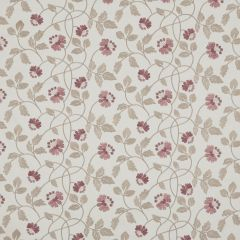 Heather Pink Floral Roman Blinds