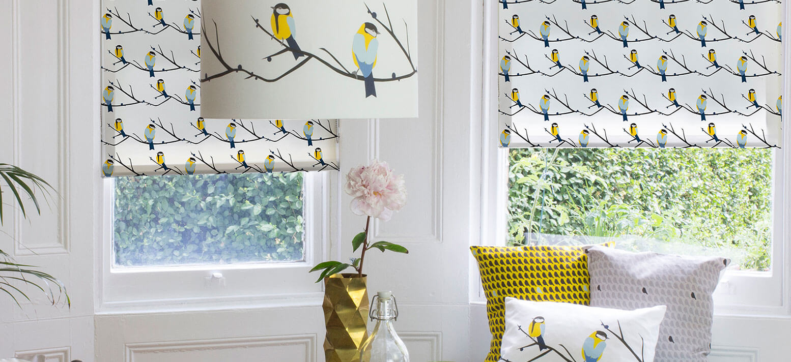 Lorna Syson Patterned Roller Blinds